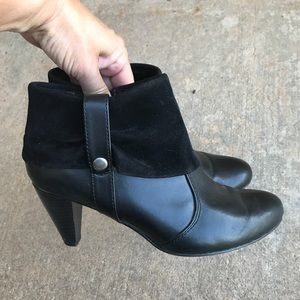 Mudd Black Booties